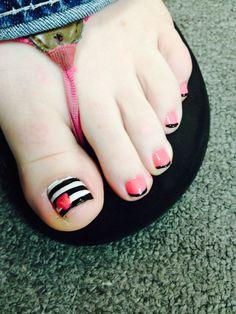 Cute toenail art