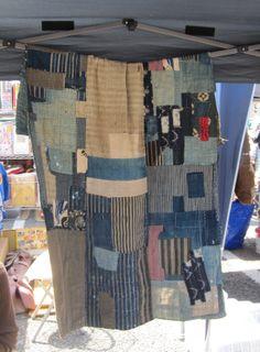 japanes textil, futons, textil work, boro work, boro futon, futon cover, japanes boro
