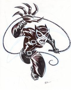 Catwoman by Bruce Timm