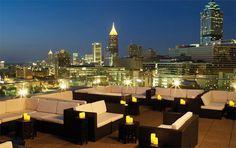 rooftop idea, sky loung, atlanta bar, glenn hotel, rooftop bar, place, hotel sky, parti, rooftops