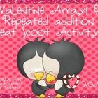 This is a whole class Valentine themed activity addressing 2.OA.4, arrays and repeated addition. Print out cards and record sheets for your student...