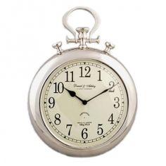 horloge murale, style montre à gousset