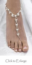wow these are gorgeous!! wedding shoes? Barefoot sandals.