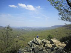 Hawk Mountain is part of the Appalachian Trail