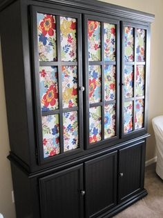 painted hutch diy