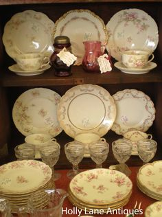 AUGUST SALE! ALL HAVILAND LIMOGES CHINA - 20% Discount - All of August - Adjustment will be made on purchase orders at Holly Lane Antiques on Ruby Lane  http://www.rubylane.com/shop/hollylaneantiques/ilist?samedb=1=hollylaneantiques=Haviland+Limoges=Go