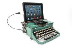 USB Typewriter Computer Keyboard and iPad Dock  by usbtypewriter, $899.00