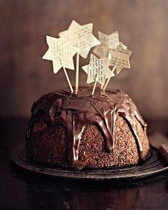 Chocolate Glazed Banana Cake - via Sweet Paul