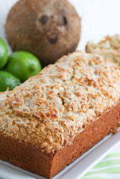 Coconut Lime Quick Bread | foodnfocus.com