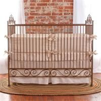 I love this baby crib!  I'm going to make a nursery for the grands...