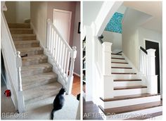 staircase makeover black door, stairs, stair makeov, staircas makeov, hous, stair remodel, staircase makeover, staircase ideas diy, staircase remodel