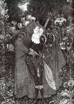 A Nightpiece - Aubrey Beardsley