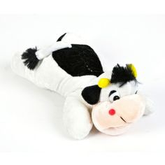 Cow Stuffed Animal (10-inch) at theBIGzoo.com, a toy store featuring 3,000+ stuffed animals.