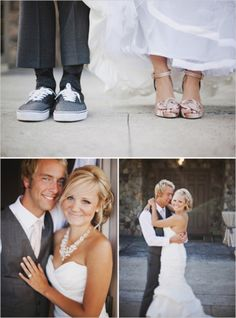 I love his shoes {I want my husband wearing sneakers @ our wedding -vans or converse}