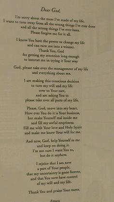 ~The Original Third Step Prayer~             (As said by Dr. Bob)