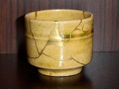 kintsugi. The Japanese art of filling the brokenness with gold to make it complete and useful again. This speaks to me!!