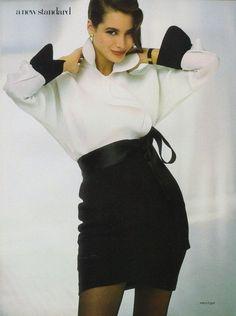 Christie Turlington 1987.