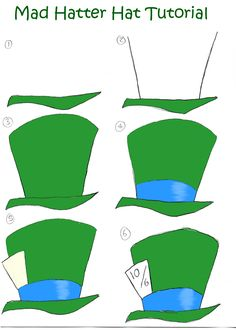 Mad Hatter Hat Tutorial by ~DisneyGirl52 on deviantART
