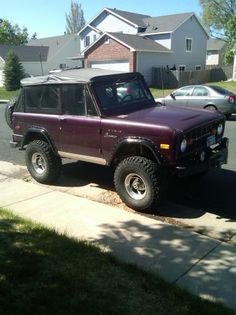 All Jacked Up on Pinterest   Ford Bronco, Lifted Ford ...