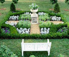 Formal garden design photos