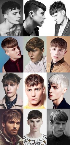 2014 haircut : back and sides short and sharp / created with a lower fade / crown area short to enhance the length at the front / hair heavier and longer towards the front -Dion Padan