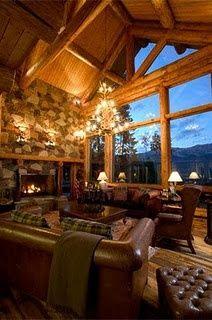 dream log cabin home ♥