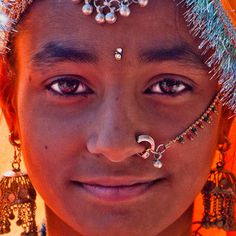 india portrait by http://heatherbuckley.co.uk, via Flickr