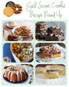Girl Scout Cookie Recipes!