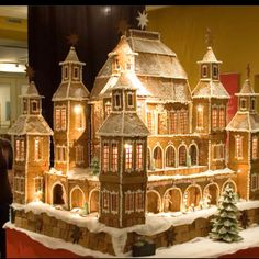 Ultimate Huge Gingerbread house