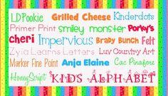 adorable fonts