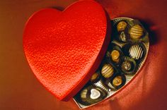 Why we give chocolates on Valentine's Day.