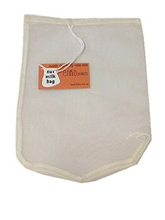 One Pack of Round Nut Milk Bag (10'' x 12'')