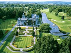 Adare Manor in County Limerick (near the west coast of Ireland)