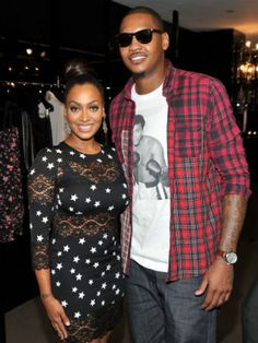 """Since Anthony signed with the Knicks, he and his wife have become New York's first couple and the newest picture of black love. Vasquez, whom the New York Times crowned the """"first lady of the NBA,"""" has a favorite black couple of her own. """"I love Will Smith and Jada Pinkett,"""" she told the New York Times. """"You see the love, and you can see the support, and they partner on things and produce together. But she has a life, and he has a life."""""""