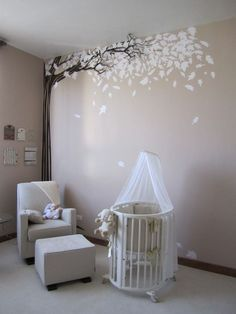 Neutral Baby Nursery Ideas | Gender neutral #white #nursery | Baby's room/ nursery ideas