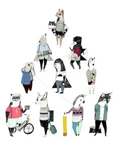 Personal Illustration - Julia Pott