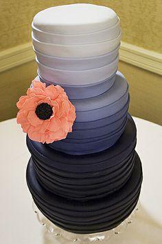 Dark Gradient Cake