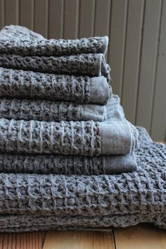 Kontex lattice towels from Japan