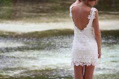 Mini lace dress 'Kisses'  $180 on Etsy