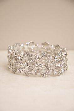 Shimmering Trellis Bracelet