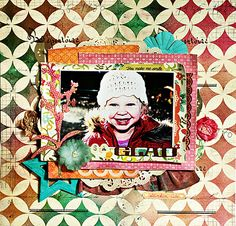 DT layout for Scrap-Perra, #scrapbooking, Crate paper Farmhouse, Pink Paislee Mistables