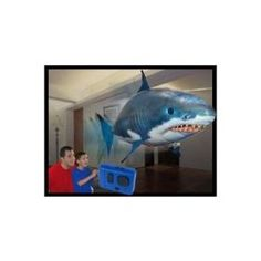This is awesome, Air Swimmer Remote Control Inflatable Flying Shark