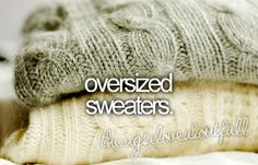 can't wait for fall! #sweaters