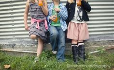 soda pop photo session