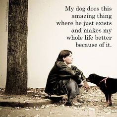 A life with a dog is the best life of all! #doglove #rescue