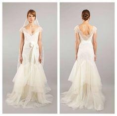 Sarah Janks lace wedding dress