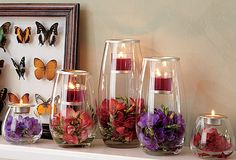I love the PartyLite Clearly Creative Collection. This idea looks like a great one to try for Spring.