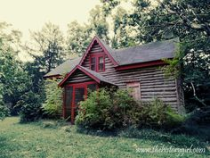 """Slab-sheathed building dating to the """"iron era"""" at Atsion Village. Located in Wharton State Forest, Shamong, NJ. Learn more at www.thehistorygirl.com"""