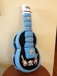 Diaper Guitar  Unique Baby Shower Gift by JocelynsCreations, $25.00
