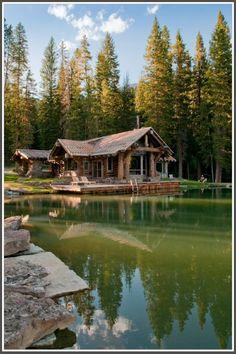 Headwaters Camp, Big Sky, Montana